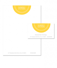 Sunergy Systems letterhead